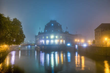 Bode Museum located on Museum Island, a UNESCO-designated World Heritage Site on Berlin, Germany Stock Photo - 13758660