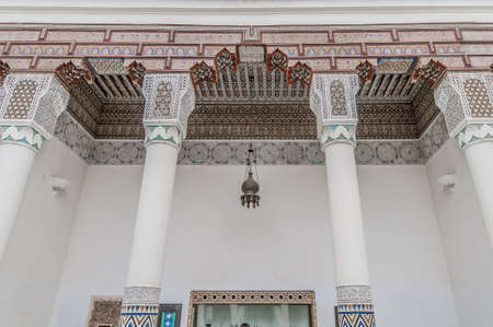 housed: Marrakech Museum housed in the Dar Menebhi Palace at Morocco
