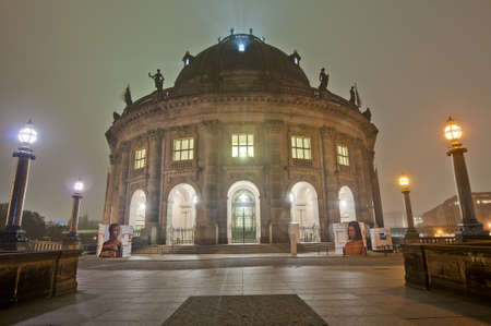 bode: Bode Museum located on Museum Island in Berlin, Germany Stock Photo