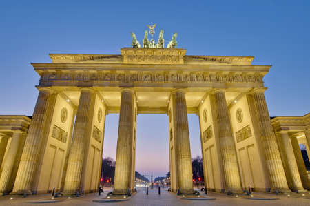 brandenburg: The Brandenburger Tor (Brandenburg Gate), Germany
