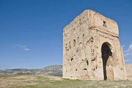Marinid tombs ruins at Fez, Morocco