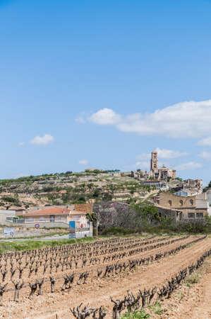 ebro: Corbera de Ebro villaggio a Tarragona, Spagna Catalogna Provincia
