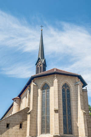 Saint Paul Minster monastery in Esslingen am Neckar town near Stuttgart, Germany Stock Photo - 17653891