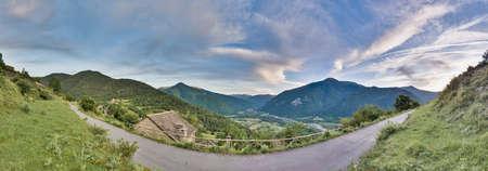 perdido: Buesa valley within Ordesa y Monte Perdido National Park