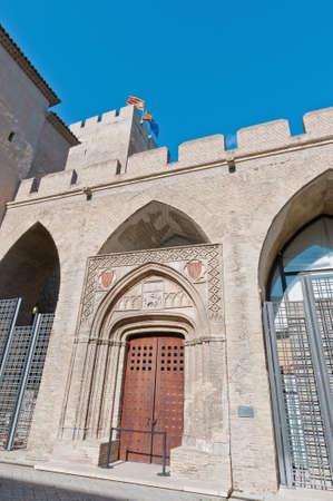 mudejar: San Martin Chapel within the Aljaferia Palace at Zaragoza, Spain