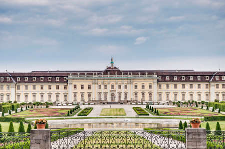 baden wurttemberg: Ludwigsburg Palace (Schloss Ludwigsburg) in Baden Wurttemberg, Germany