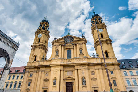 elector: The Theatine Church of St. Cajetan (Theatinerkirche St. Kajetan), a Catholic church in Munich, founded by Elector Ferdinand Maria and his wife, Henriette Adelaide of Savoy.