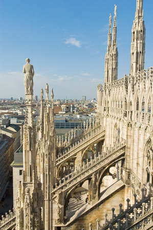 Il Duomo cathedral at Milan, Italy photo