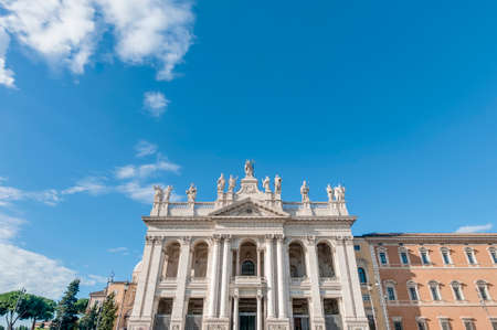 ecclesiastical: The Papal Archbasilica of St. John Lateran (Arcibasilica Papale di San Giovanni in Laterano), the official ecclesiastical seat of the Bishop of Rome, who is the Pope.