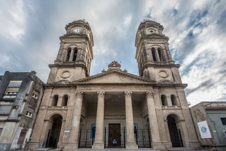 entre: Saint Joseph (San Jose) Cathedral in Gualeguaychu, Entre Rios, Argentina. Stock Photo