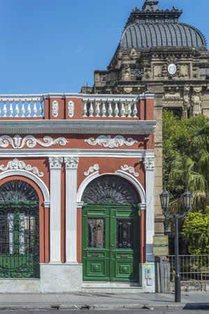padilla: Padilla House facade in San Miguel de Tucuman, Tucuman province, northern Argentina.