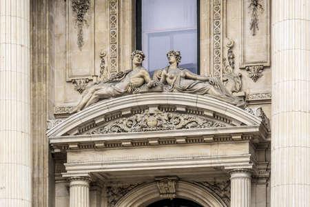 bruxelles: The Bourse de Bruxelles or Beurs van Brussel (Brussels Stock Exchange), Belgium.