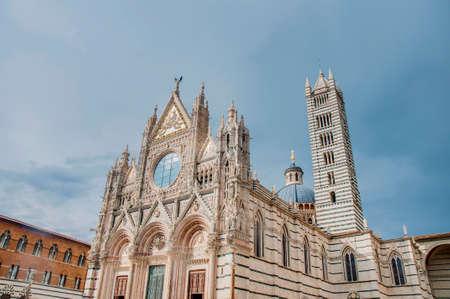 scala: Santa Maria della Scala church located in Siena, Tuscany, Italy.