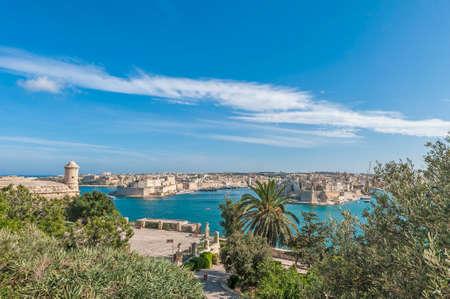 La Valletta Grand Harbour, Malta Stock Photo