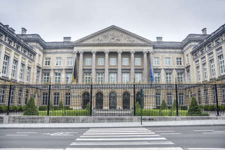 The Belgian Federal Parliament sits in the Palace of the Nation (Palais de la Nation) in Brussels, Belgium