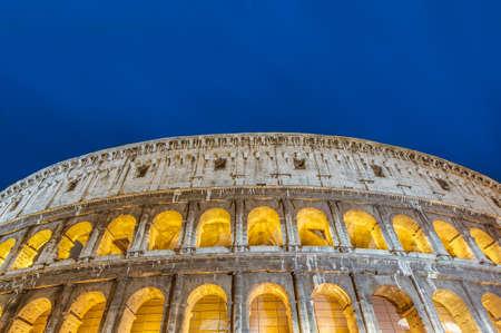 caput: The Colosseum, or the Coliseum, originally the Amphitheatrum Flavium, an elliptical amphitheatre in Rome, Italy