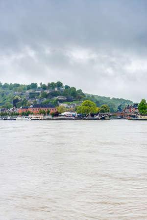 meuse: Meuse River passing through Namur, Belgium