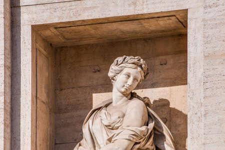 mundi: Trevi Fountain in Rome, Italy.