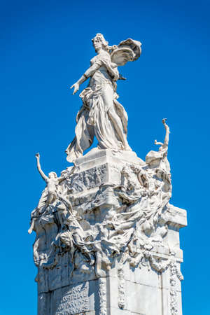 Four Regions (Cuatro Regiones) Monument on Palermo neighborhood in Buenos Aires, Argentina photo