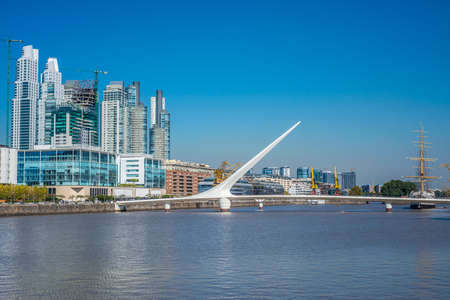 Puerto Madero, also known within the urban planning community as the Puerto Madero Waterfront district in Buenos Aires, Argentina. photo