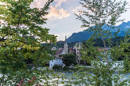 Saint Nicholas parish church, the most important neo-gothic monument in the Tyrol in Innsbruck, Austria