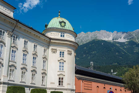 habsburg: The Imperial Palace (Hofburg), the former Habsburg palace in Innsbruck, Austria. Editorial
