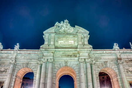 Puerta de Alcala located at Madrid, Spain photo
