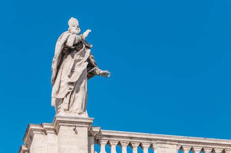 The Papal Basilica of Saint Mary Major (Basilica Papale di Santa Maria Maggiore), the largest Roman Catholic Marian church in Rome, Italy.