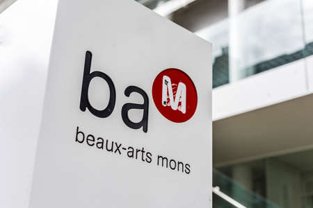 bam: BAM (Beaux-Arts Museum) in Mons, capital of the Wallonian province of Hainaut in Belgium. Editorial