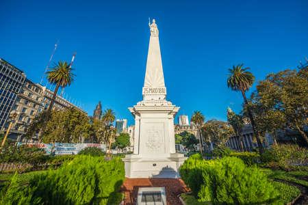 De Piramide de Mayo (Piramide van mei), op het Plaza de Mayo, is het oudste nationale monument in de stad Buenos Aires, Argentinië.