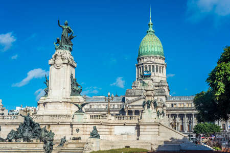 argentine: Congressional Plaza (Plaza Congreso), a public park facing the Argentine Congress in Buenos Aires, Argentina