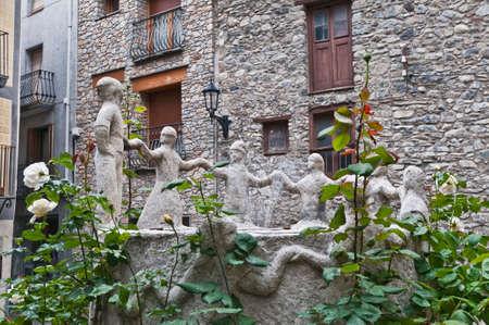 tourism in andorra: Contrapas sculpture by Sergi Mas at Andorra-La-Vella