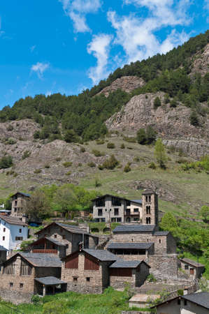 pal: Sant Climent romanic church located at Pal, Andorra