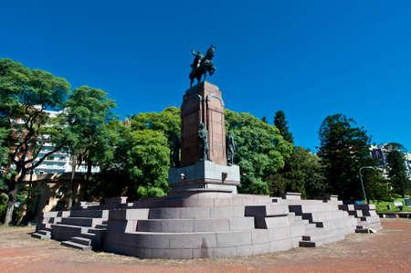carlos: Carlos de Alvear statue at Recoleta neighborhood
