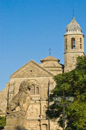 El Salvador church located at Ubeda, Andalucia, Spain Editorial
