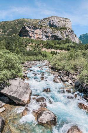 perdido: Ordesa y Monte Perdido National Park located at Aragón province, Spain Editorial