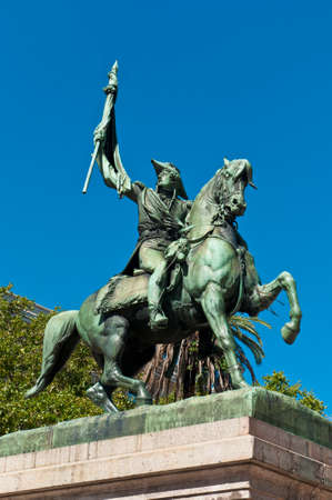 creator: Monumento de Manuel Belgrano, creador de la bandera Argentina.