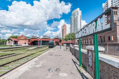 fe: Former Rosario Central main train station in Rosario, Santa Fe province, Argentina