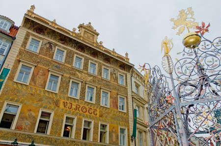 rott: Rott casa de enfrente, Praga, Rep�blica Checa agente Editorial