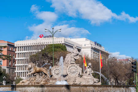 fertility goddess: The fountain of Cibeles, named after Cybele (or Ceres), Roman goddess of fertility, is seen as one of Madrid s most important symbols in Spain. Editorial