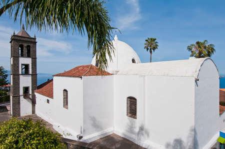 Church located at El Sauzal, Tenerife Island