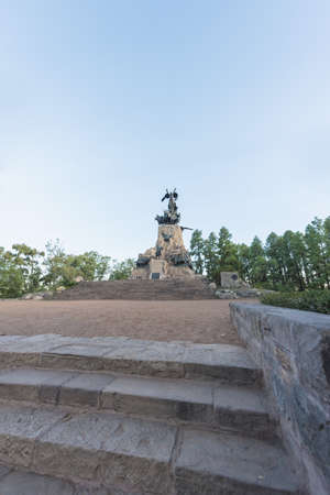 gloria: Monument to the Army of the Andes at the top of the Cerro de la Gloria at the General San Martin Park