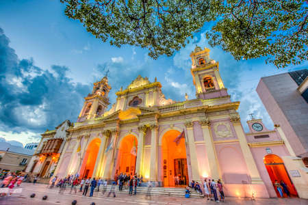 Cathedral Basilica and Sanctuary of the Lord and the Virgin of the Miracle in Salta, Argentina