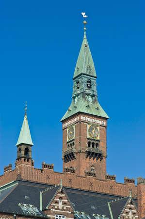 cityhall: Cityhall building located at Copenhagen, Denmark