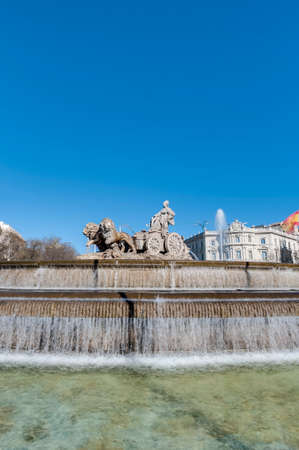 fertility goddess: The fountain of Cibeles, named after Cybele (or Ceres
