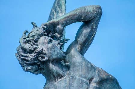 fallen angel: The Fountain of the Fallen Angel