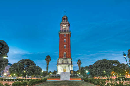 monumental: Monumental Tower located in Retiro at  Buenos Aires, Argentina