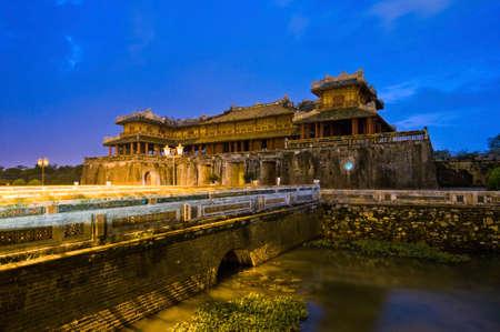 cau: Cau Trung Dao, the entrance to the Hue Royal palace Editorial