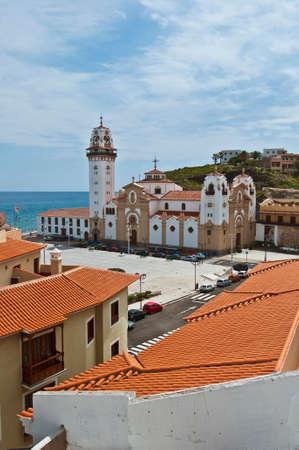 the believer: Basilica of Nuestra Senora de la Candelaria located at Candelaria, Tenerife Island.