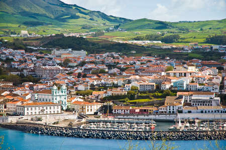 Misericordia Kirche in Angra do Heroismo, Terceira, Azoren, Portugal.